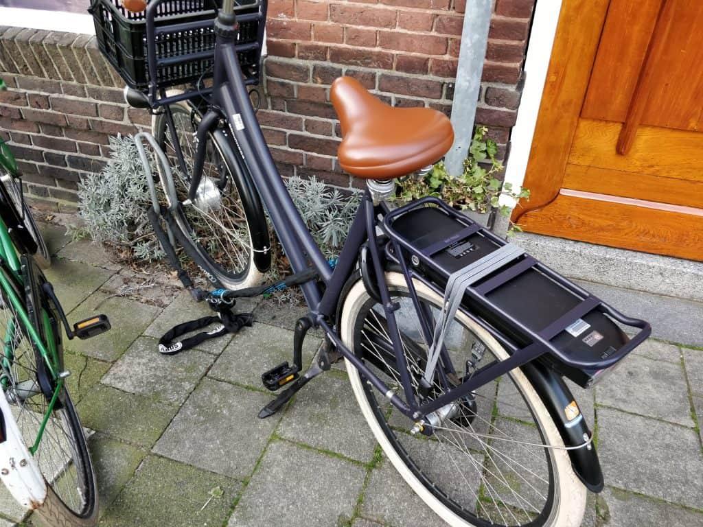 e-bike op straat