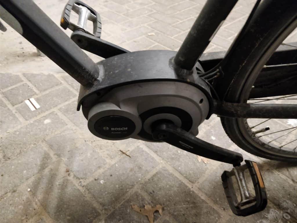 Bosch active line middenmotor met trapkrachtsensor