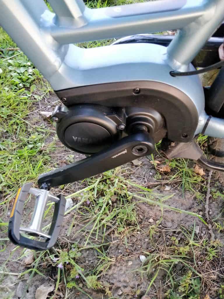 Yamaha middenmotor met trapkrachtsensor