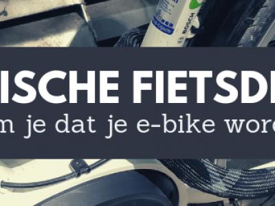 Voorkom dat je elektrische fiets wordt gestolen! 7 concrete tips.