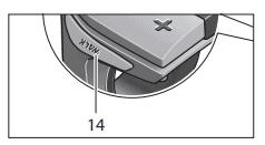 Walk assist knop op Bosch systeem