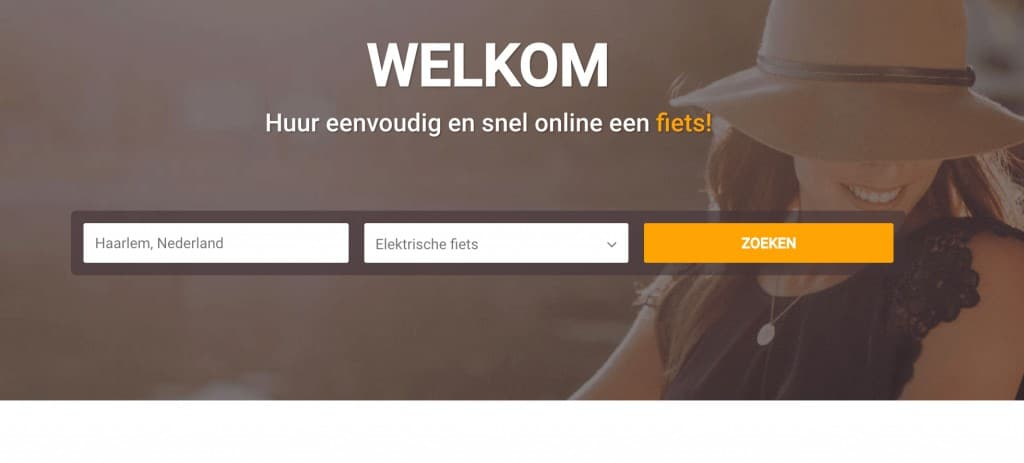 Screenshot van bimbimbikes.nl