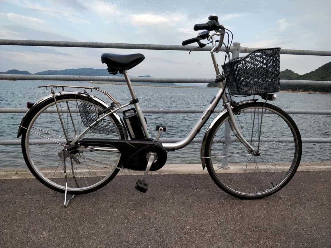 Elektrische fiets gehuurd